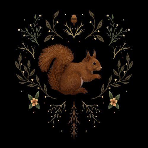 Botanical Squirrel