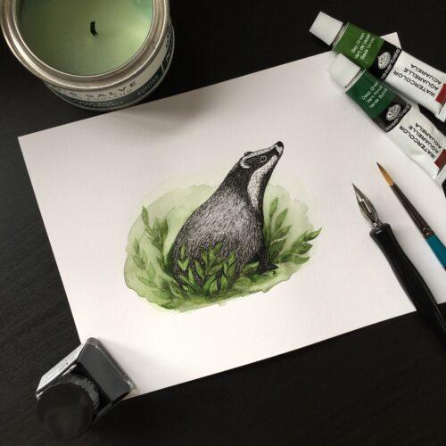 Paint Badger