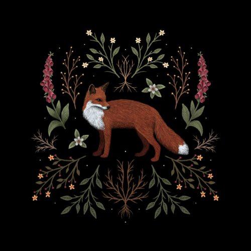Botanical Fox